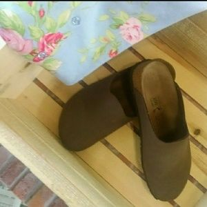 "Birkenstock ""Provence"" Brown Clogs 39"